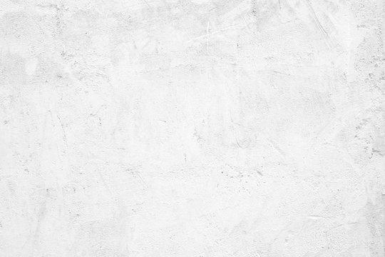 Blank white grunge cement wall texture background, banner, interior design background