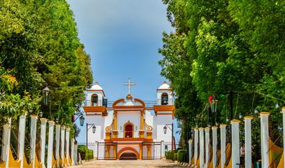 View of colonial Guadalupe Church in San Cristobal de las Casas - Mexiko