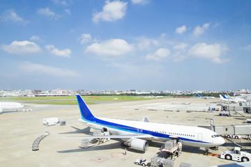 羽田空港 国際線旅客ターミナル 展望デッキからの眺め