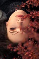 Autumn Woman Portrait.