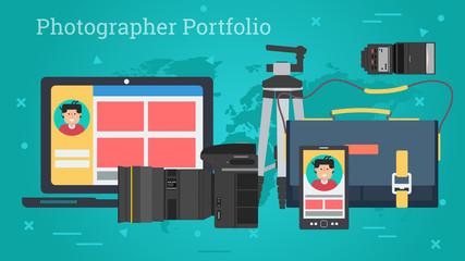 Business Banner - Personal photo portfolio