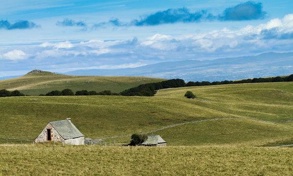 landscape from Aubrac