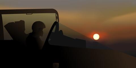 Avion de Chasse - pilote de chasse - guerre - avion - cockpit - militaire - combat
