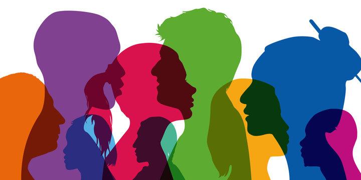 profil - visage - population - peuple - diversité - différent - couleur de peau - ethnique