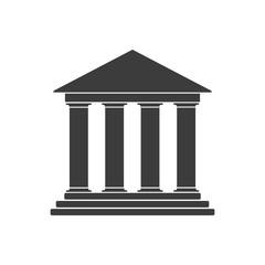 Bank icon. Vector.