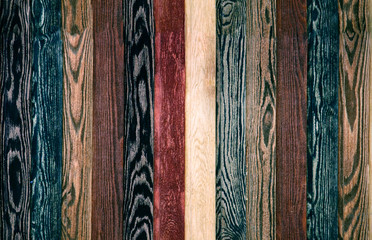 Colorful Wood Background planks. seamless dark blue texture floor