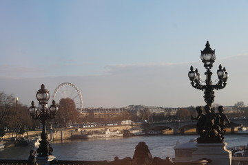 Beautiful unique city of Paris in France
