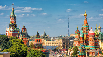 Fototapete - Red Square in Moscow