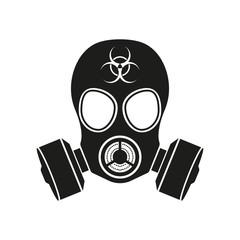 Gas mask. Vector.