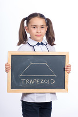 Girl with Trapezoid Shape