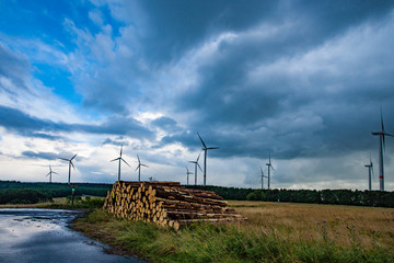 Windparks Westerwald