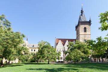 Charles Square, Prague, Czech Republic