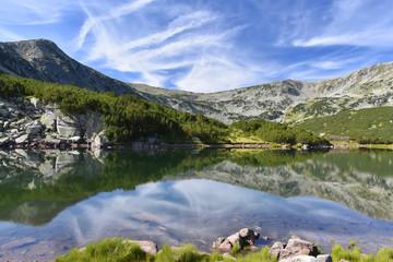 Smradlivoto Lake, Rila Mountains, Bulgaria