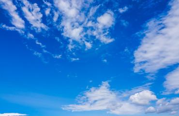 Summer blus sky background overlay