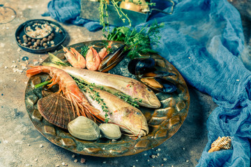 Photo of seafood on plate