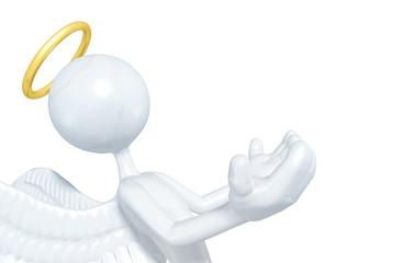 The Original 3D Character Illustration Angel