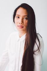 Beautiful Asian young woman portrait