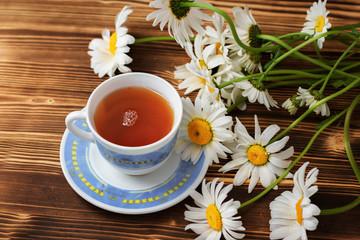 Tea with chamomile