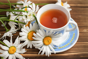 Tea with chamomile