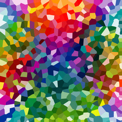 Abstract colorful mosaic pattern1