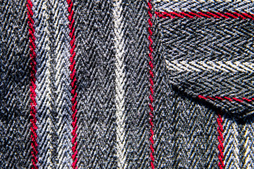 Texture of the wool fabric for background