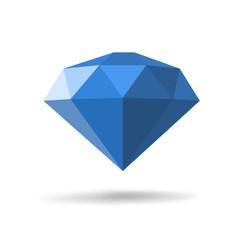 Modern diamond icon