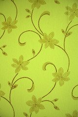 wallpaper green flower background2