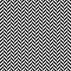 Vector seamless herringbone pattern. Geometric texture. Black-and-white background. Monochrome design. Vector EPS10