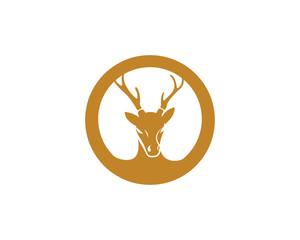 Deer logo icon design