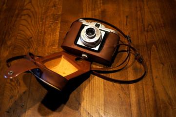 Vieil appareil photographique