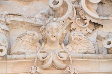 Printed kitchen splashbacks Monument Basilica cathedral of Martina Franca. Puglia. Italy.
