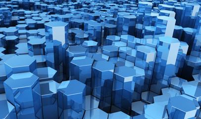 hexagonos fondo