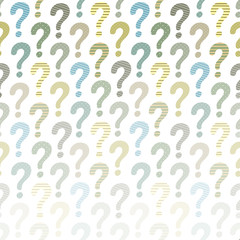 Question mark background. Vector abstract template for your design