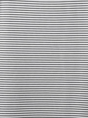 Material in black and white stripes