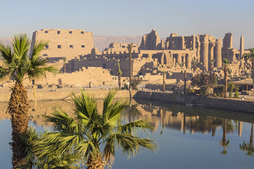 Egypt, Luxor, Karnak Temple, Temple of Amun & Sacred Lake