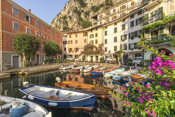 Italy. Lombardy. Brescia district. Lake Garda. Limone sul Garda.