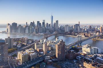 Downtown Manhattan and Brooklyn, New York City, USA