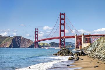 Golden Gate bridge, San Francisco, California, USA Fotoväggar