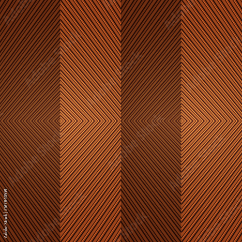 Seamless Orange Abstract Background Simple Geometrical