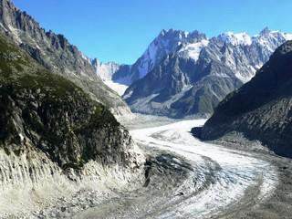 Glacier de la mer de glace