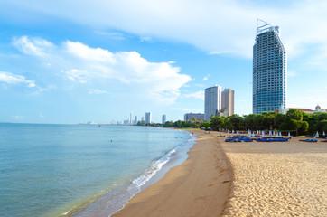 Pattaya beach at Pattaya, Thailand