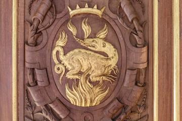 La salamandre, emblème de Francois 1er