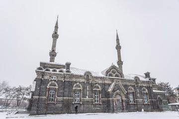 Fethiye Mosque in Kars city, Turkey.