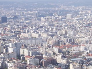 View at Paris from above