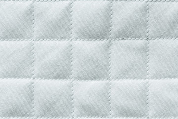 Quilted light cotton fabric, texture