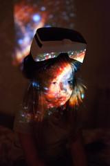 Dreamy little girl