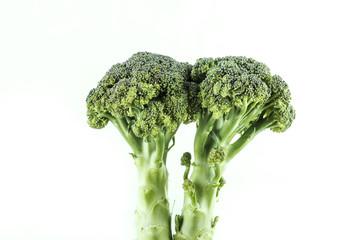 Pieces of fresh broccoli