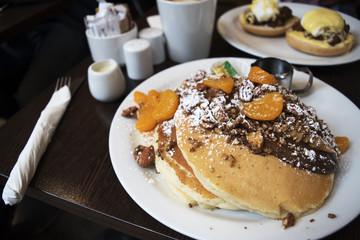 Chcocolate Orange Pancakes