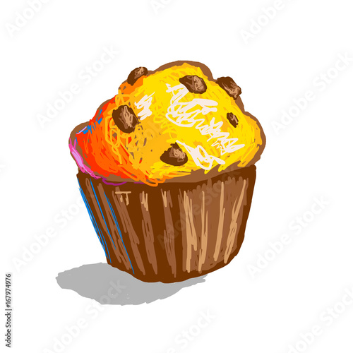 Muffin Graphic Pixel Stock Photo And Royalty Free Images On