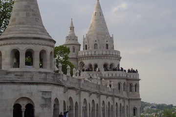The Fisherman Bastion in Budapest